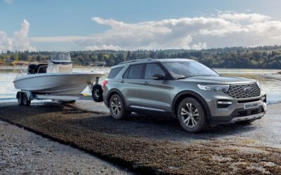 Nye Ford Explorer Plug in Hybrid